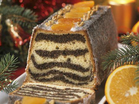 Mohnkuchen zu Weihnachten