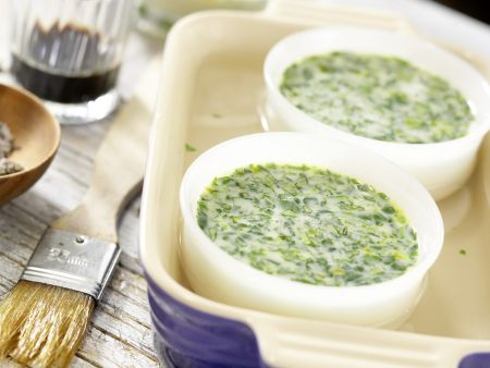 Mosaik von geröstetem Paprika: Zubereitungsschritt 4