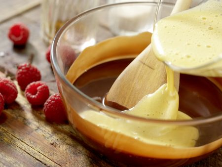 Mousse au chocolat: Zubereitungsschritt 3