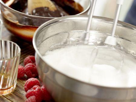Mousse au chocolat: Zubereitungsschritt 4