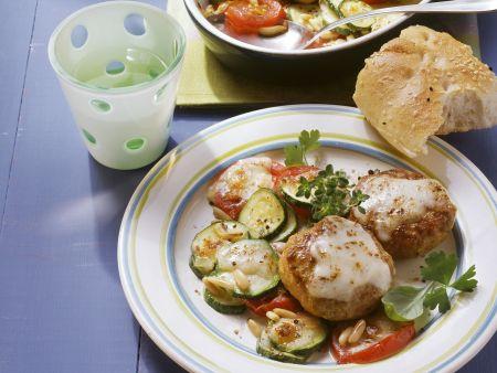 Mozzarella-Frikadellen