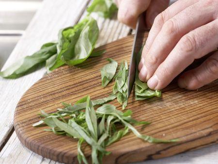Mozzarella-Spieße: Zubereitungsschritt 4