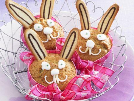 Muffin-Hasen zu Ostern