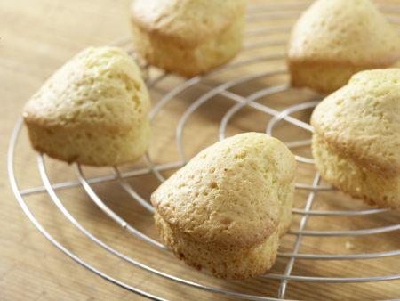Muffin-Herzen mit Schokolade: Zubereitungsschritt 4