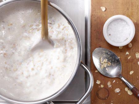 Multikorn-Porridge: Zubereitungsschritt 2