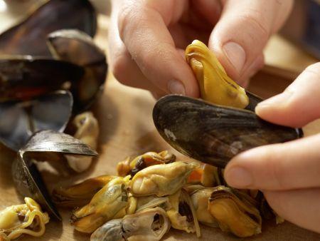 Muschelsuppe: Zubereitungsschritt 12