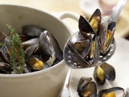 Muschelsuppe: Zubereitungsschritt 2