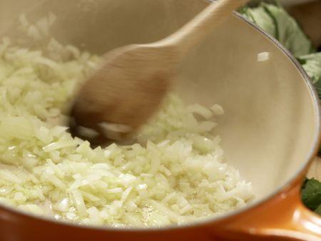 Muschelsuppe: Zubereitungsschritt 8