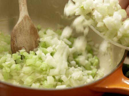 Muschelsuppe: Zubereitungsschritt 9