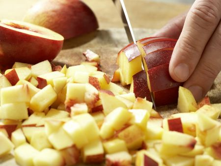 Nektarinen-Marmelade: Zubereitungsschritt 2