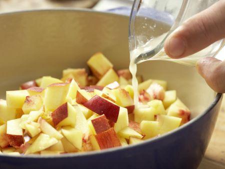 Nektarinen-Marmelade: Zubereitungsschritt 4