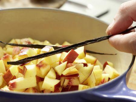 Nektarinen-Marmelade: Zubereitungsschritt 5