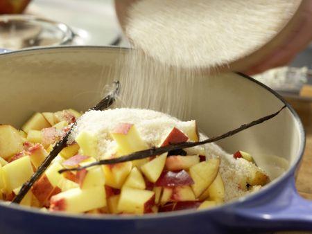 Nektarinen-Marmelade: Zubereitungsschritt 6