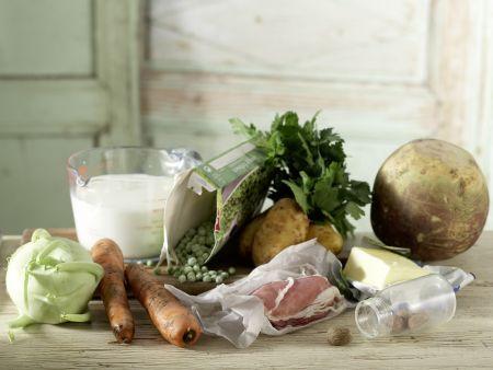 Norddeutscher Milch-Gemüse-Topf: Zubereitungsschritt 1