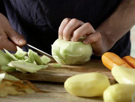 Norddeutscher Milch-Gemüse-Topf: Zubereitungsschritt 2