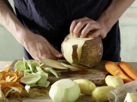 Norddeutscher Milch-Gemüse-Topf: Zubereitungsschritt 3