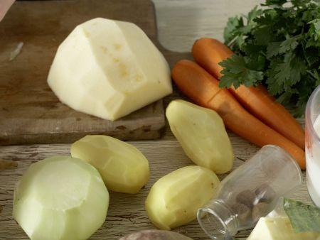 Norddeutscher Milch-Gemüse-Topf: Zubereitungsschritt 4