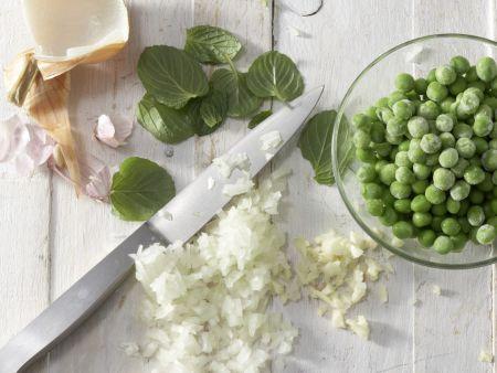 Nudel-Frittata: Zubereitungsschritt 1