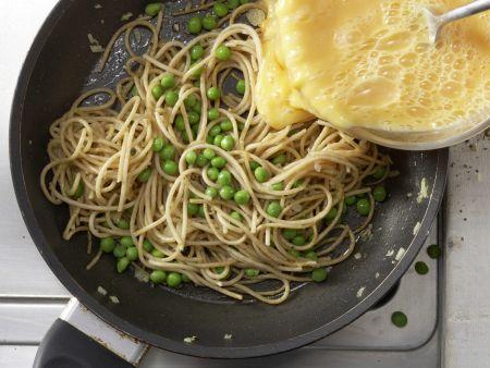 Nudel-Frittata: Zubereitungsschritt 5