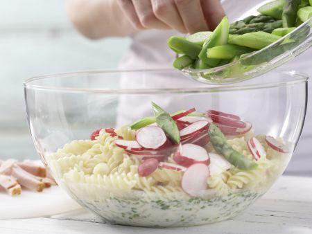 Nudel-Spargel-Salat: Zubereitungsschritt 8