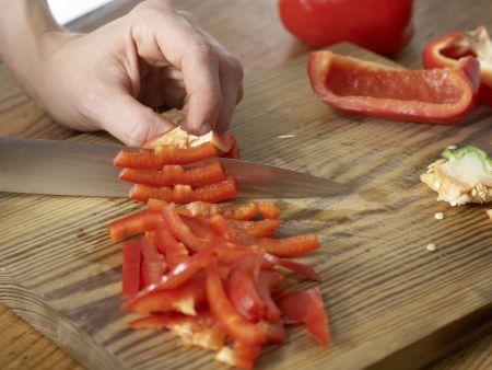Nudelsalat mit Cabanossi: Zubereitungsschritt 4