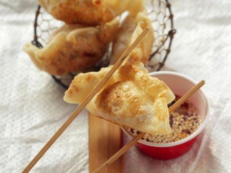 Rezept: Nudeltaschen nach chinesischer Art