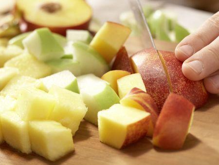 Obstspieße: Zubereitungsschritt 3