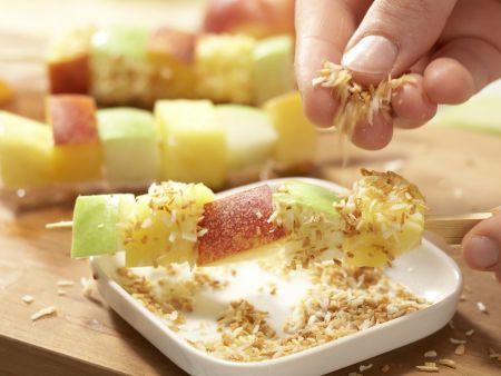 Obstspieße: Zubereitungsschritt 5