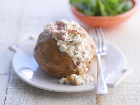 Ofenkartoffeln mit Hüttenkäse