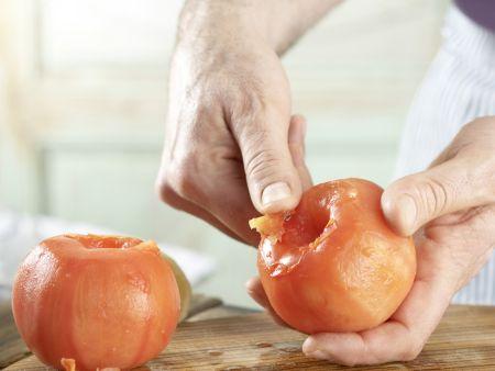 Oliven-Tomaten-Makkaroni: Zubereitungsschritt 2