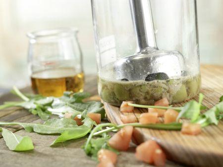 Oliven-Tomaten-Makkaroni: Zubereitungsschritt 3