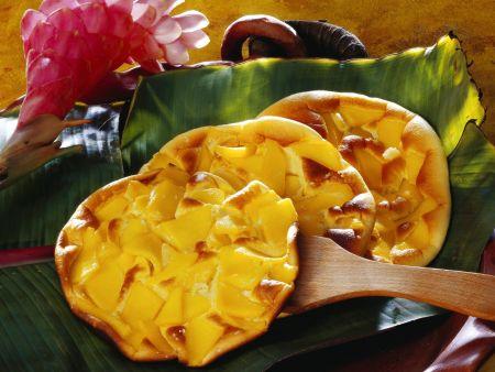Rezept: Omelett mit Mango
