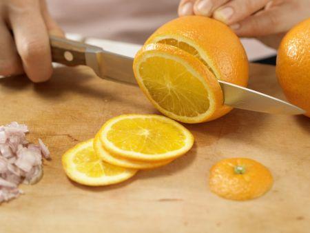 Orangen-Estragon-Spargel: Zubereitungsschritt 2