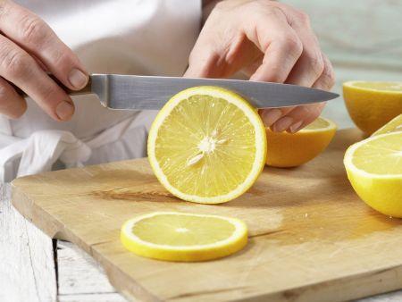 Orangen-Flan mit Pistazien: Zubereitungsschritt 3