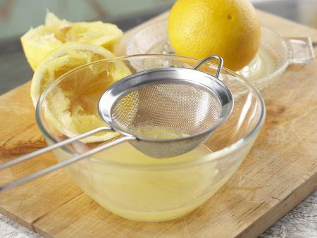 Orangen-Flan mit Pistazien: Zubereitungsschritt 4