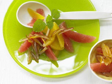 Orangen-Grapefruit-Salat