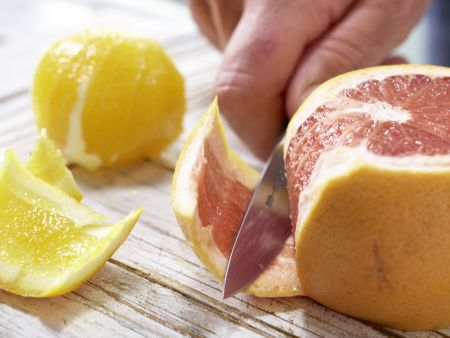 Orangen-Grapefruit-Salat: Zubereitungsschritt 3