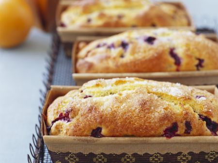Orangen-Heidelbeer-Kuchen