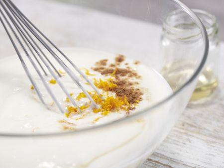 Orangen-Joghurt-Creme: Zubereitungsschritt 5