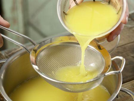 Orangen-Thymian-Gelee: Zubereitungsschritt 3