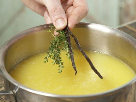 Orangen-Thymian-Gelee: Zubereitungsschritt 5