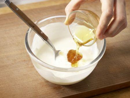 Orangencreme mit Quark und Joghurt: Zubereitungsschritt 4