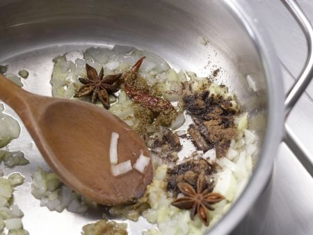 Orientalische Gemüsesuppe: Zubereitungsschritt 4