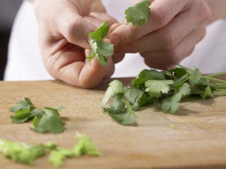 Orientalische Gemüsesuppe: Zubereitungsschritt 9