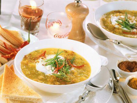 Orientalische Möhren-Suppe mit Aprikosen