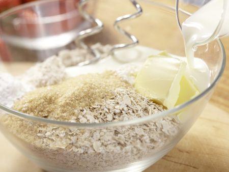 Osterhasen-Gebäck: Zubereitungsschritt 1
