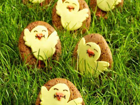 Osterplätzchen mit Küken