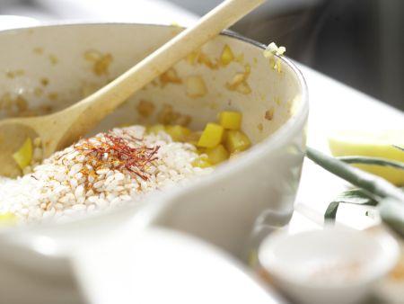Paella mit Hähnchen: Zubereitungsschritt 6
