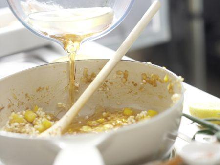 Paella mit Hähnchen: Zubereitungsschritt 7