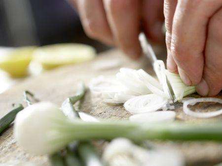 Paella mit Hähnchen: Zubereitungsschritt 9
